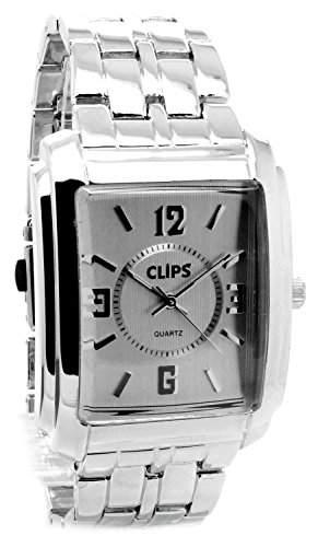 Clips Herren-Armbanduhr Analog Quarz Alloy 554-7015-88