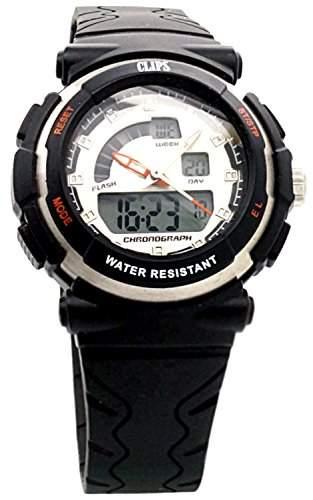 Clips Damen-Armbanduhr Digital Quarz Kautschuk 557-1003-84