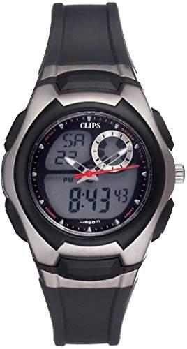 Clips Damen-Armbanduhr Analog - Digital Quarz Kautschuk 557-1004-44