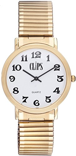 Clips Herren Armbanduhr Analog Quarz 553 9014 12
