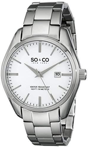 So &Co, New York, Madison Herren-Armbanduhr Analog Quarz 51011