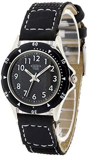 At Time Jungen-Armbanduhr Analog Quarz Textil 454-1800-44