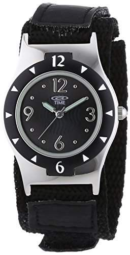 At Time Jungen-Armbanduhr Analog Quarz Textil 454-1806-44