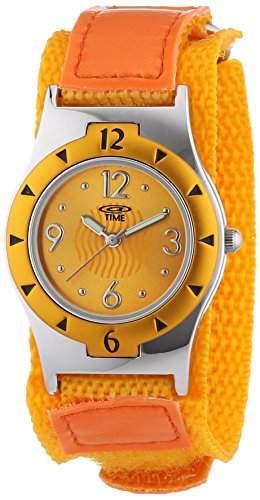 At Time Maedchen-Armbanduhr Analog Quarz Textil 454-1806-66
