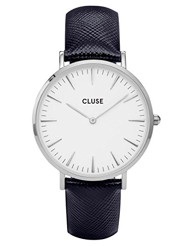 Cluse La Boheme Silver Midnight Blue CL18232