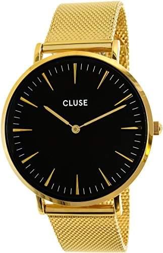 Cluse Unisex-Armbanduhr Analog Quarz Edelstahl CL18110