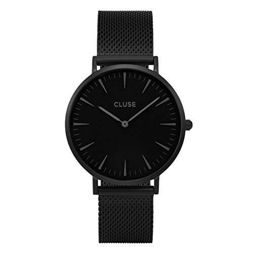 Cluse Unisex-Armbanduhr Analog Quarz Edelstahl CL18111