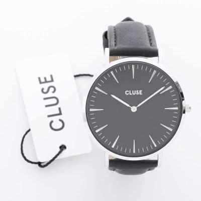 Cluse Unisex-Armbanduhr Analog Quarz Leder CL18201