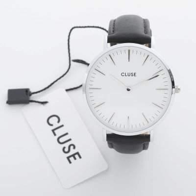 Cluse Unisex-Armbanduhr Analog Quarz Leder CL18208