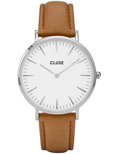 Cluse Unisex-Armbanduhr Analog Quarz Leder CL18211