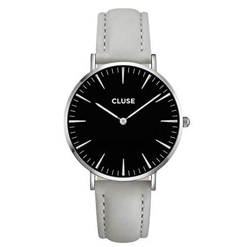 Cluse Unisex-Armbanduhr Analog Quarz Leder CL18218