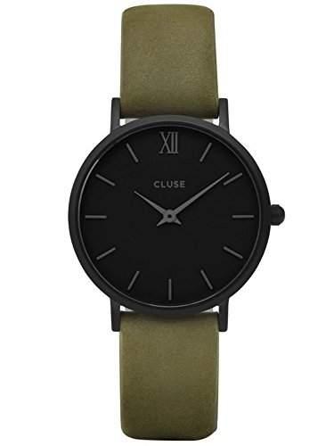 Cluse Unisex-Armbanduhr Analog Quarz Leder CL30007