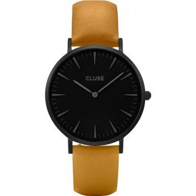 Cluse La Boheme Full Black Mustard CL18508