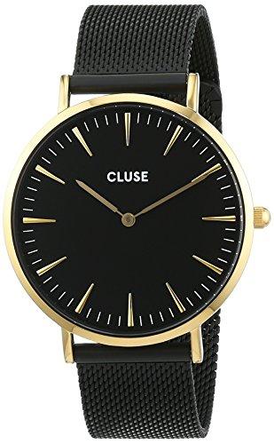 Cluse Damen Armbanduhr Analog Quarz Edelstahl CL18117