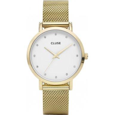 Cluse Damen Armbanduhr Analog Quarz Edelstahl CL18302