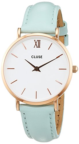 Cluse Damen Armbanduhr Analog Quarz Leder CL30017