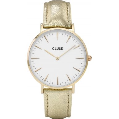 Cluse La Boheme Gold White Gold Metallic CL18421