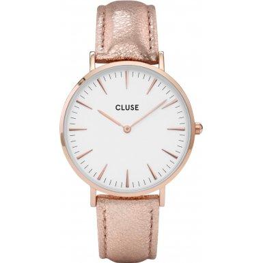 Cluse La Boheme Rose Gold White CL18030