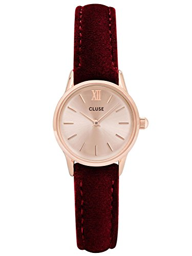 Cluse La Vedette Rose Gold Red Velvet CL50018
