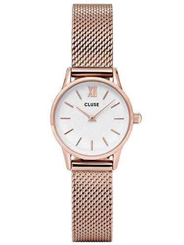 Cluse La Vedette Mesh Rose Gold White CL50006
