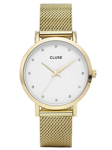 Cluse Pavane Gold Stones Armbanduhr CL18302