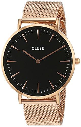 Cluse Unisex Armbanduhr Analog Quarz Edelstahl CL18113