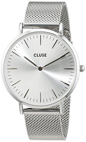 Cluse Unisex Armbanduhr Analog Quarz Edelstahl CL18114