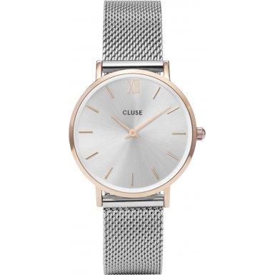 Cluse Unisex Armbanduhr Analog Quarz Edelstahl CL30025