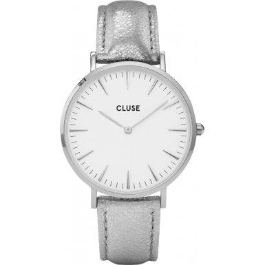 Cluse La Boheme Silver White Silver Metallic CL18233