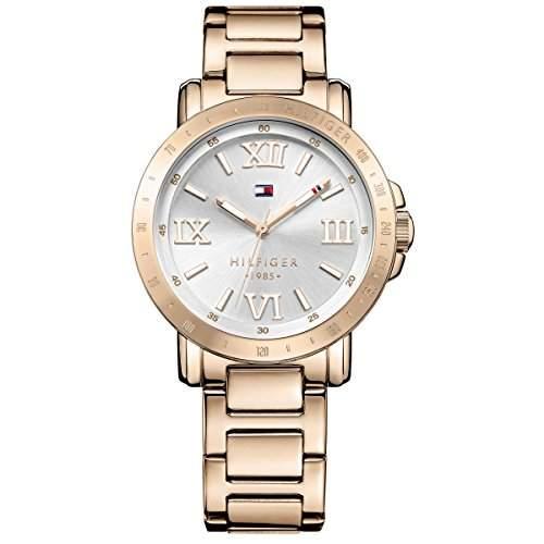 Tommy Hifiger-1781472-Liv Damen-Armbanduhr 045J699Analog weiss Armband