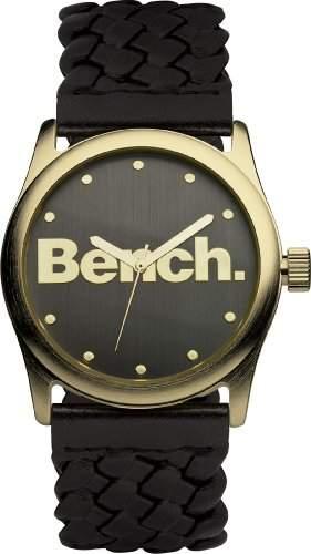 Bench Damen-Armbanduhr Analog plastik schwarz BC0406GDBK