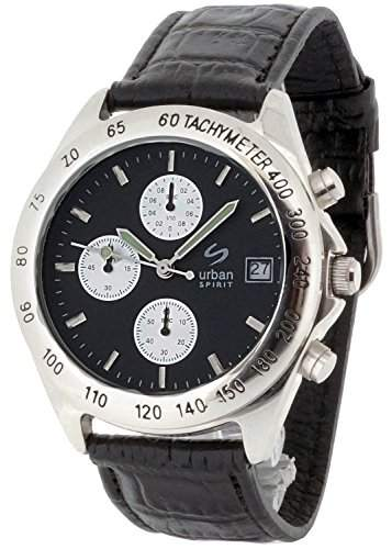 Urban Spirit Herren-Armbanduhr Chronograph Quarz U100BAAR1