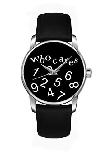 Schwarz Zahlen fashion Quarz Analog Damenuhr Maedchenuhr Damen Maedchen Uhr schwarz Leder Armband