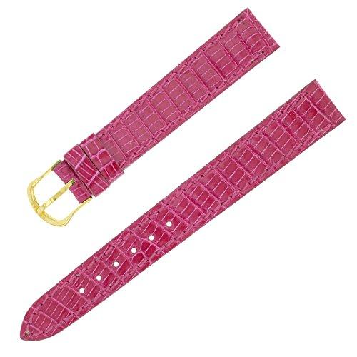 Breil 14 11 mm Hot Pink Echt Leder Damen Armbanduhr Band