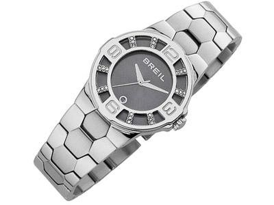 Breil Damen Armbanduhr Analog Edelstahl Silber TW0760