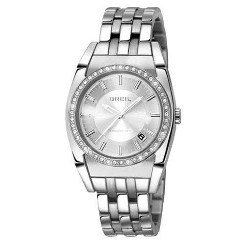 Breil Damen Armbanduhr XS Atmosphere Analog Quarz Edelstahl TW0920