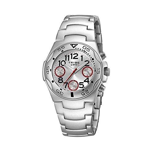 BREIL Uhren Tribe ICE Herren Aluminium Chronograph Silber EW0184