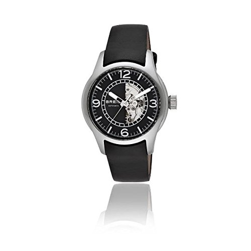 Breil Herren Armbanduhr XL Analog Leder TW0777