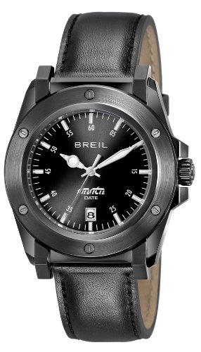 Breil Herren Armbanduhr XL Analog Leder TW0852