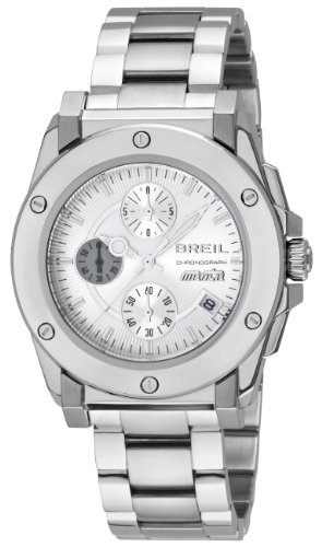 Breil Herren Armbanduhr XL Chronograph Edelstahl TW0732