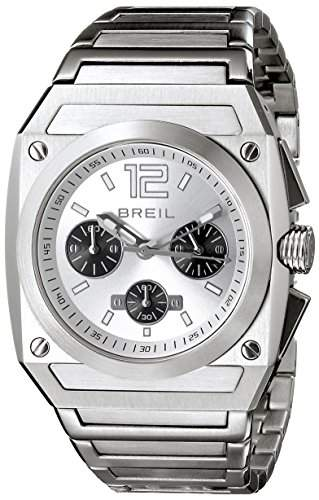 Breil Herren-Armbanduhr XL Chronograph Edelstahl TW0690