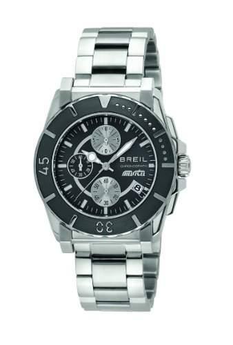 Breil Herren-Armbanduhr XL Chronograph Edelstahl TW0788