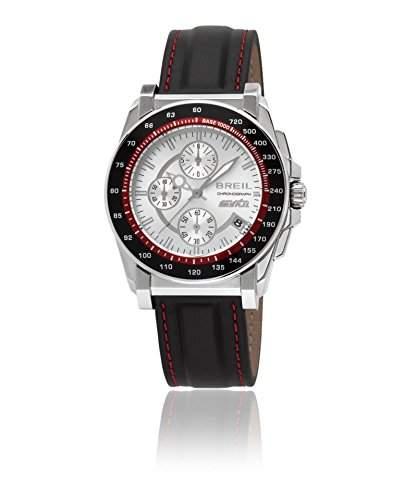 Breil Herren-Armbanduhr XL Chronograph Leder TW0790