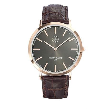 Trendy Classic cg1025 08 Armbanduhr Armband Leder braun