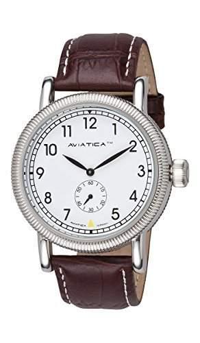 AVIATICA Armbanduhr Herren Fliegeruhr Leder Flight Commander Classic 03627006