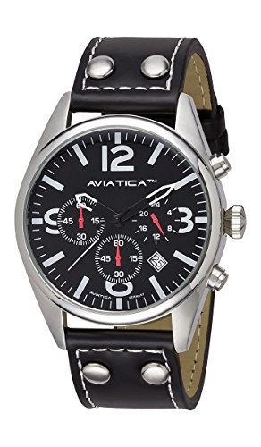AVIATICA Armbanduhr Herren Fliegeruhr Flight Commander Collection IV Chrono 03252013