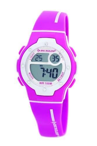 Dunlop Damen-Armbanduhr Digital Plastik rosa DUN-153-L05