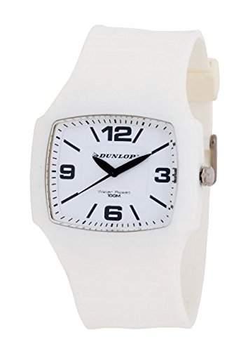 Dunlop Herren-Armbanduhr Analog Quarz Kunststoff DUN-188-G11
