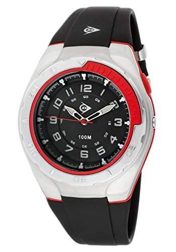 Dunlop Herren-Armbanduhr Analog Quarz Kunststoff DUN-197-G01