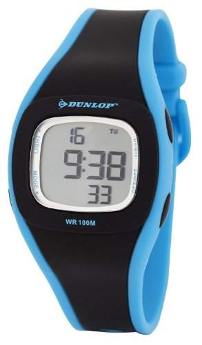 Dunlop Damen-Armbanduhr Digital Quarz Kunststoff DUN-198-L01
